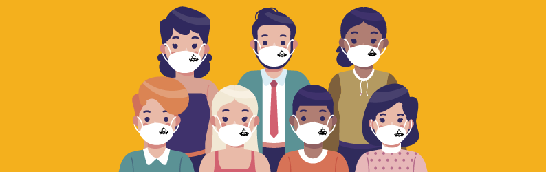Pandemia: Porque comprar máscaras personalizadas?