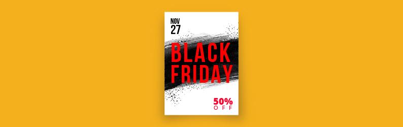 Impressos essenciais para a sua campanha de Black Friday
